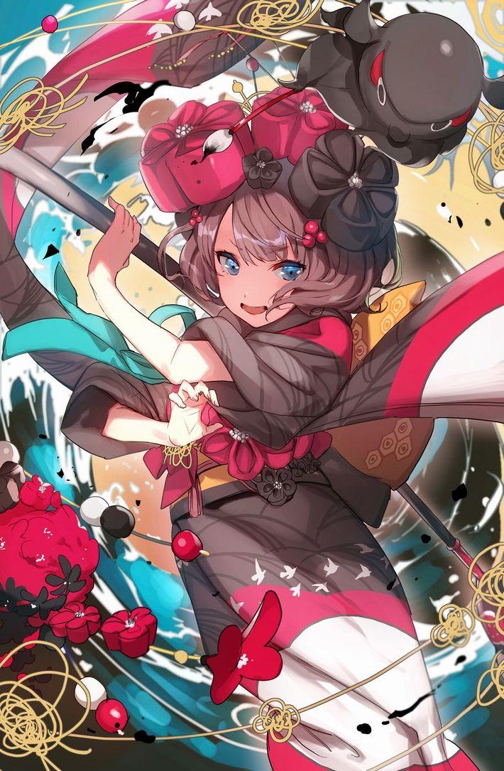 【Fate/GrandOrder】葛飾北斎(かつしかほくさい)のエロ画像【65】