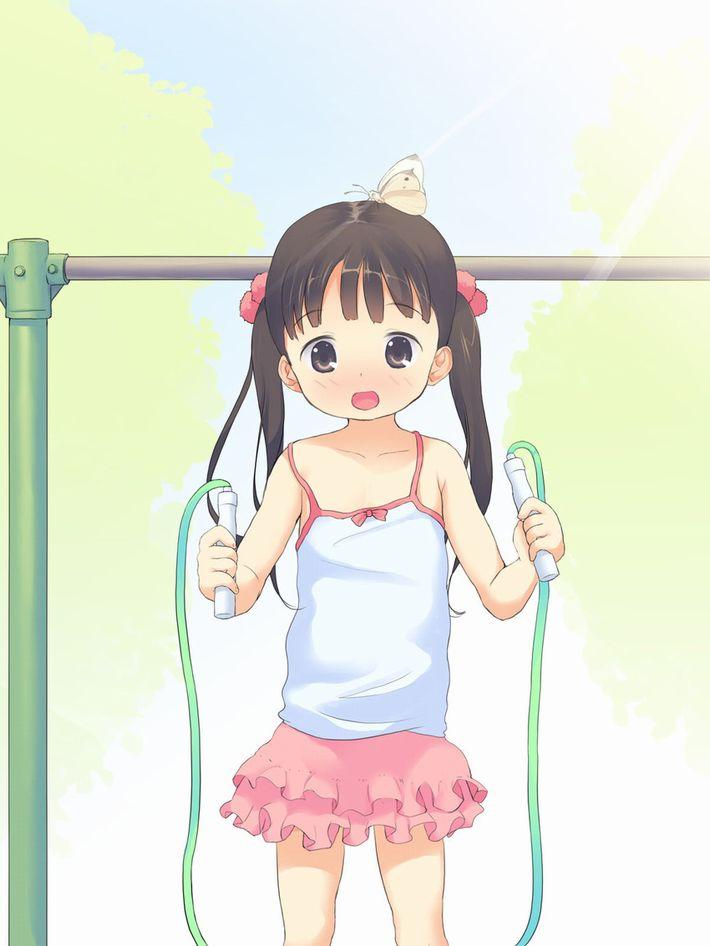【ダイエットかな?】縄跳びしてる女の子たちの二次エロ画像【23】