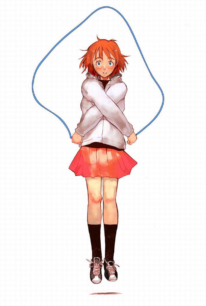 【ダイエットかな?】縄跳びしてる女の子たちの二次エロ画像【37】