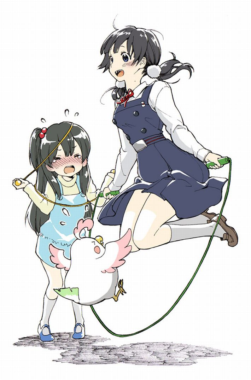 【ダイエットかな?】縄跳びしてる女の子たちの二次エロ画像【40】