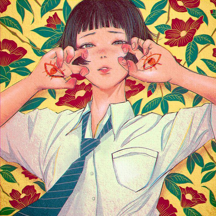 【サブカルクソ女に多い髪形】ボブカットな女の子達の二次エロ画像【10】