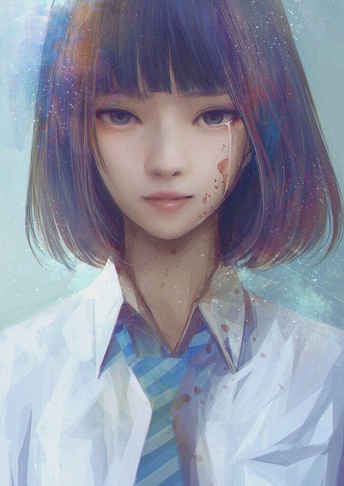 【サブカルクソ女に多い髪形】ボブカットな女の子達の二次エロ画像【13】