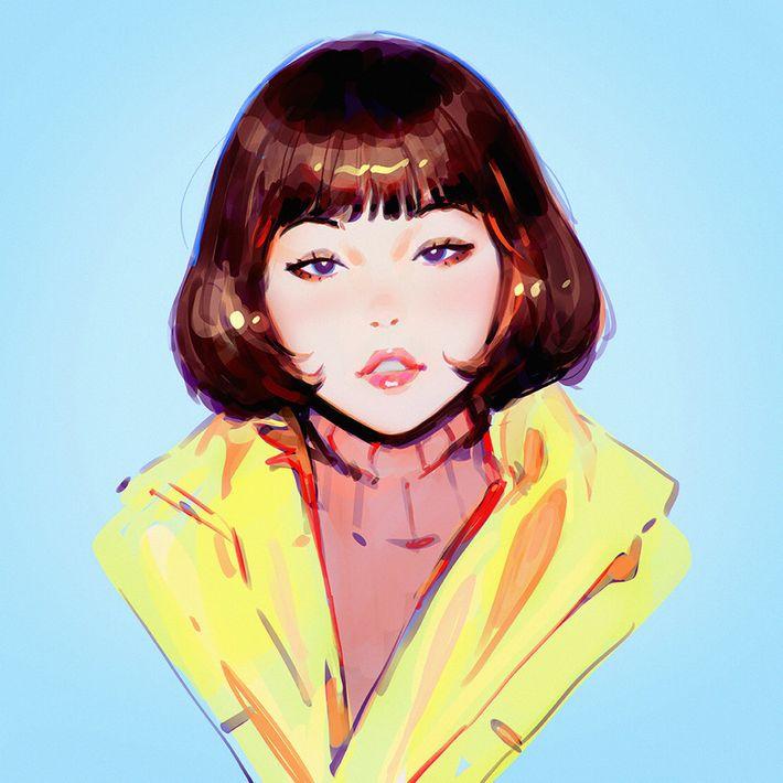 【サブカルクソ女に多い髪形】ボブカットな女の子達の二次エロ画像【29】