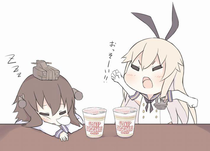 【王道を往く】カップヌードルを食べてる女の子達のエロ画像【6】