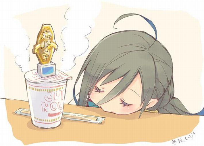 【王道を往く】カップヌードルを食べてる女の子達のエロ画像【14】