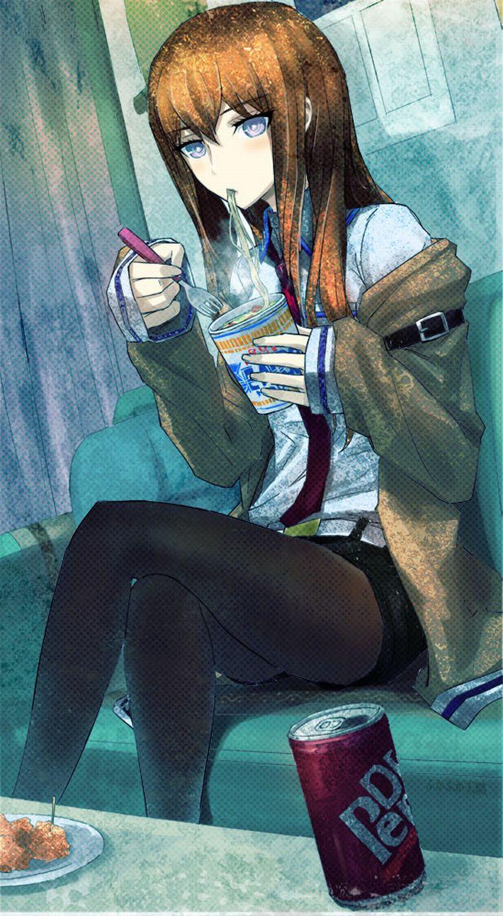 【王道を往く】カップヌードルを食べてる女の子達のエロ画像【23】