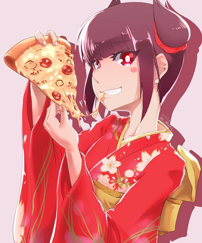 【ピザハット半額は】ピザ食ってる女の子の二次画像【2/8まで】【6】
