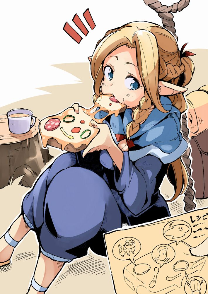 【ピザハット半額は】ピザ食ってる女の子の二次画像【2/8まで】【7】