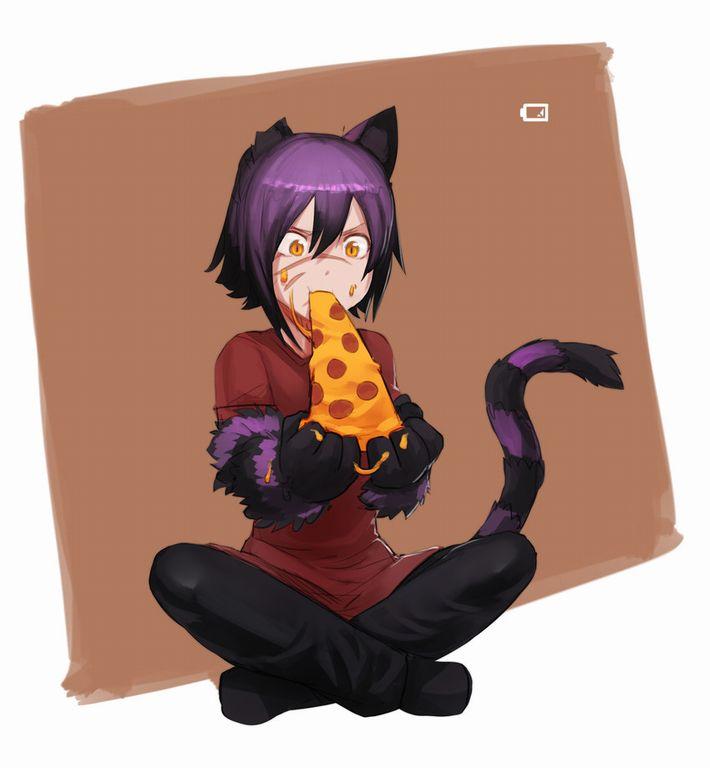 【ピザハット半額は】ピザ食ってる女の子の二次画像【2/8まで】【23】