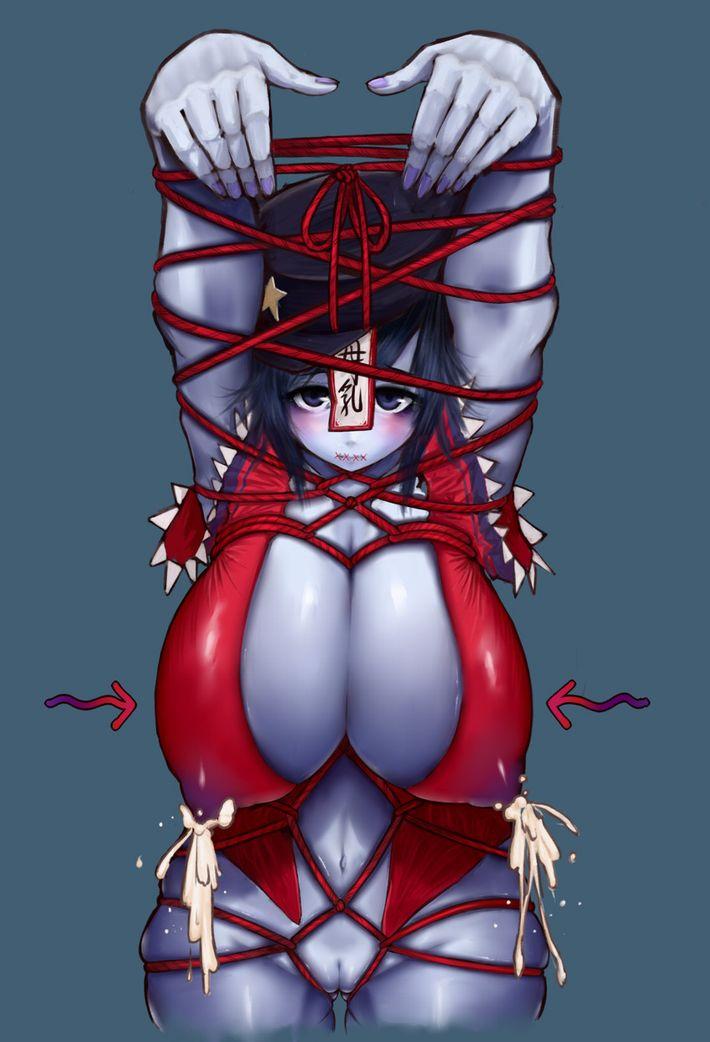 【ハミ出す尻肉】Tバック履いてる女の子をローアングルで眺める二次エロ画像【17】