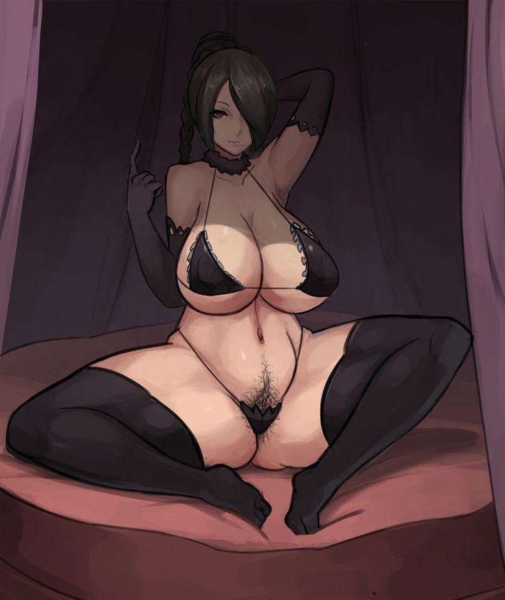 【本日のメインディッシュ】香りたつような女性器の二次エロ画像~黒々とした陰毛を添えて~【24】