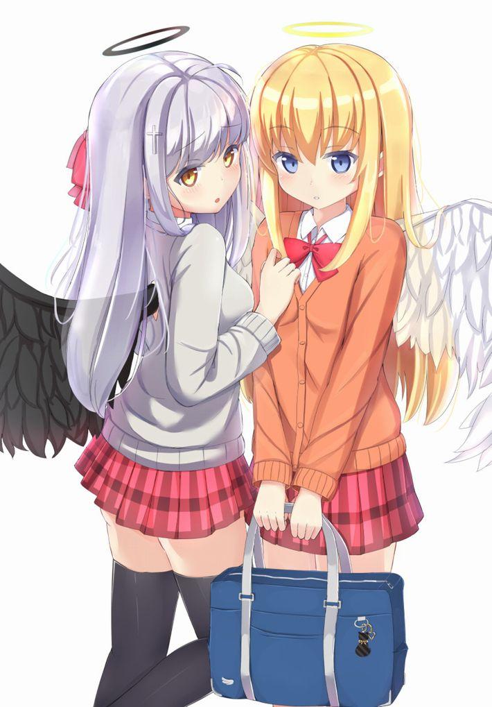 【私ハリフキダシ見ると】天使の二次エロ画像【死んでしまいます】【18】
