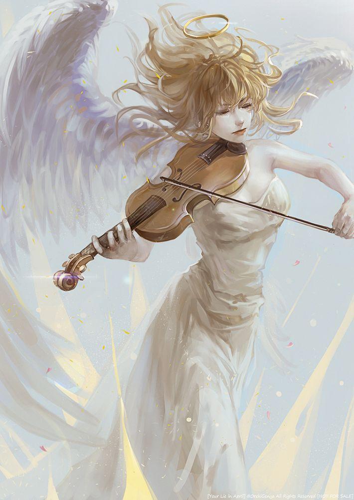 【私ハリフキダシ見ると】天使の二次エロ画像【死んでしまいます】【30】