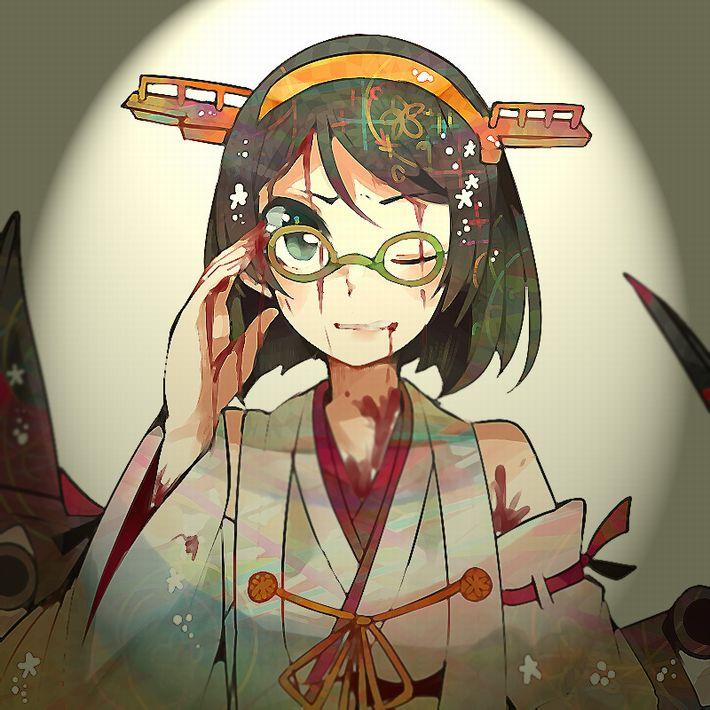 【病だったり】吐血してる美少女の二次エロ画像【怪我だったり】【9】