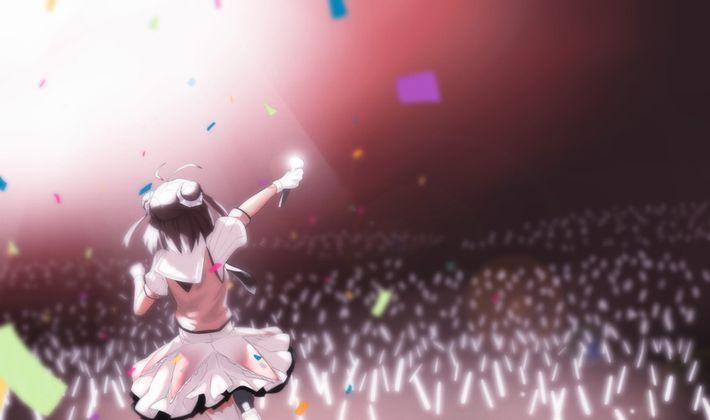 【イェェーイ】ライブ真っ最中なアイドル達の二次エロ画像【オタ芸オタ芸】【21】