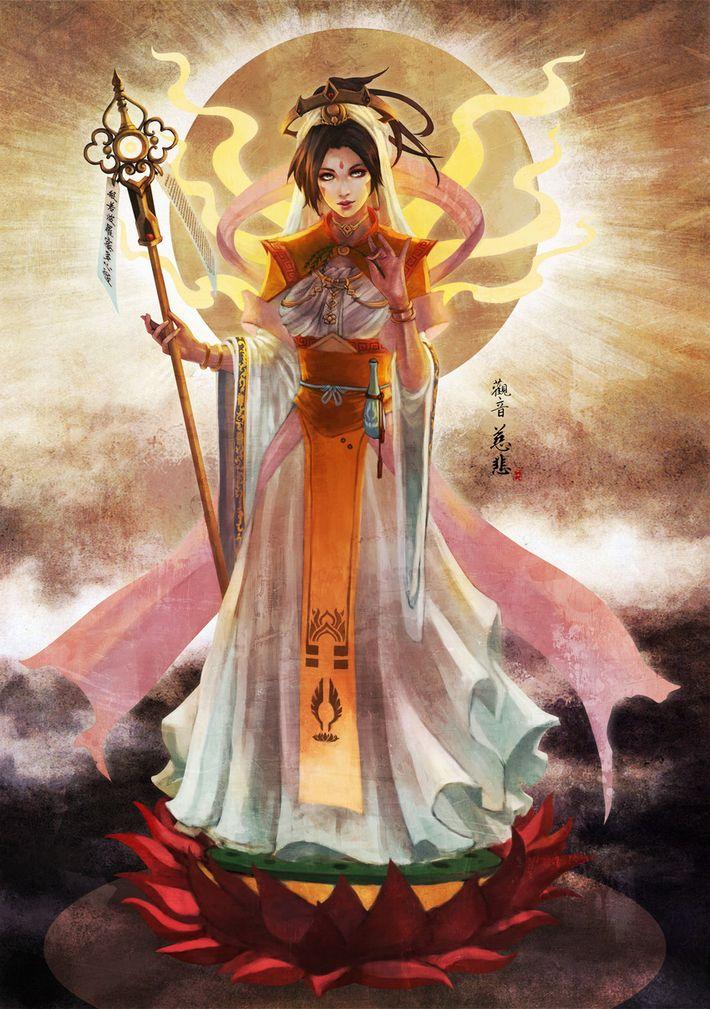 【私は神だ】女神様っぽい女の子達の二次エロ画像【知りたいことなんでも教えよう】【6】