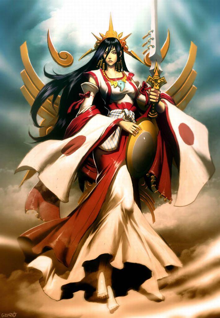 【私は神だ】女神様っぽい女の子達の二次エロ画像【知りたいことなんでも教えよう】【7】