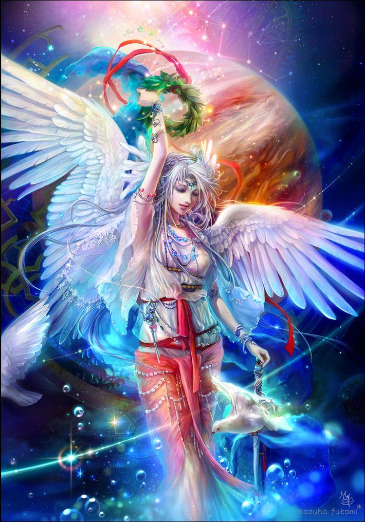 【私は神だ】女神様っぽい女の子達の二次エロ画像【知りたいことなんでも教えよう】【9】