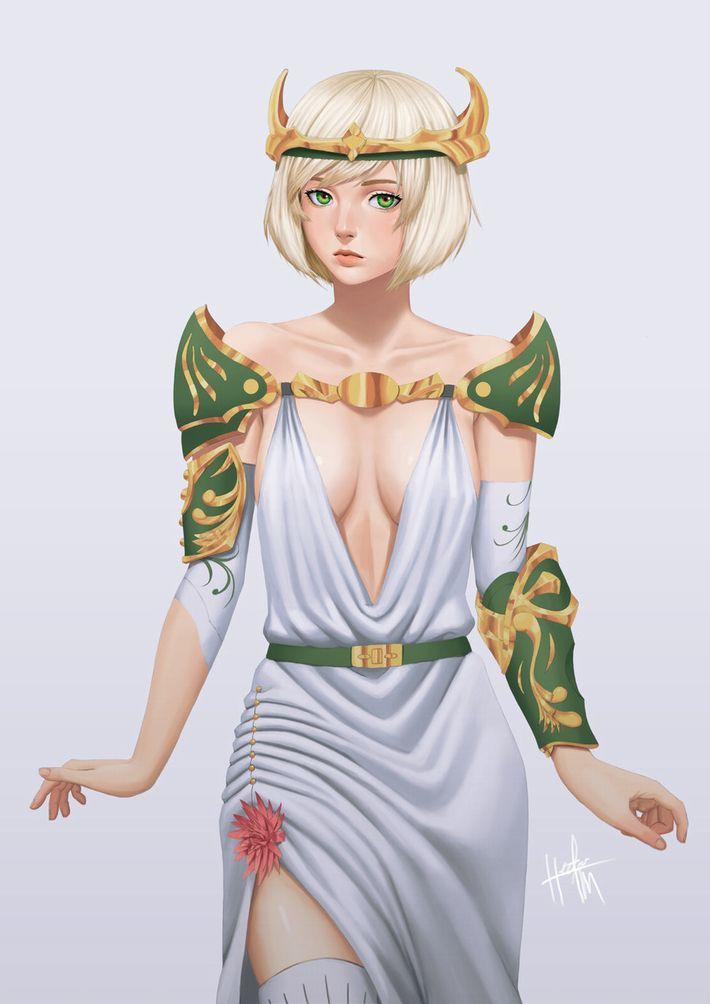【私は神だ】女神様っぽい女の子達の二次エロ画像【知りたいことなんでも教えよう】【38】