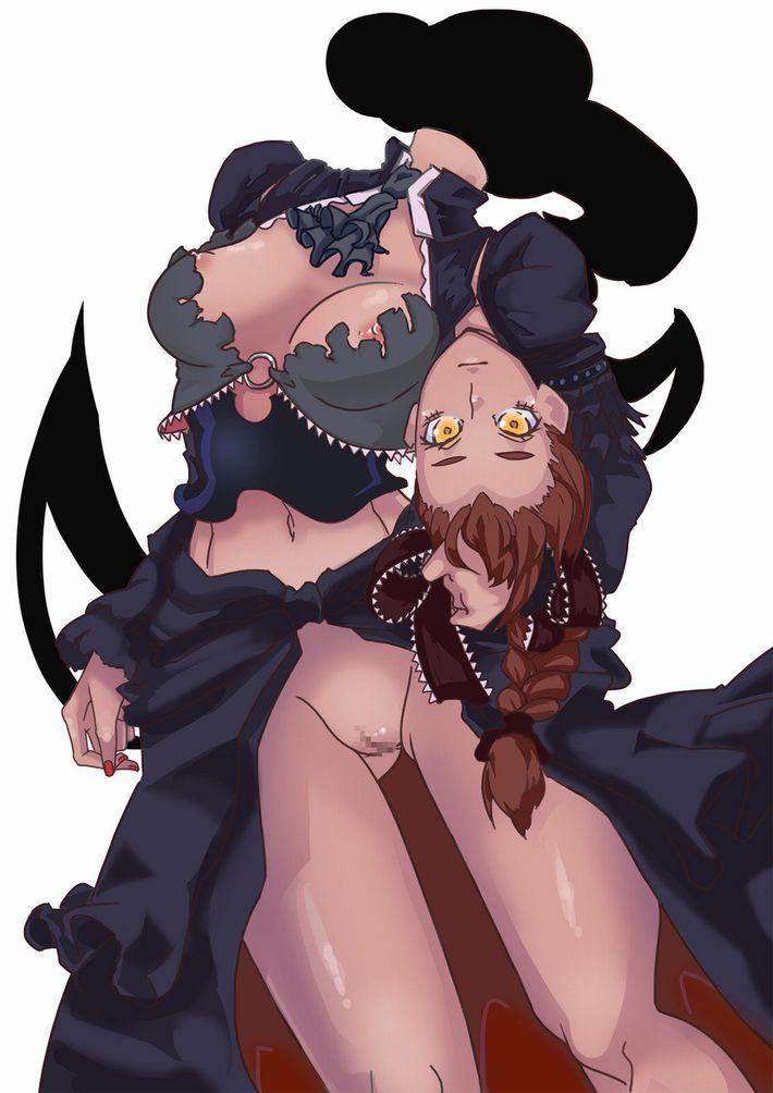 【セルフクンニ出来るね!】首が外せるデュラハン系女子の二次エロ画像【19】