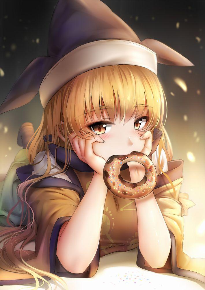 【ミスド】ドーナツ食べてる女の子の二次画像【ダンキン】【26】