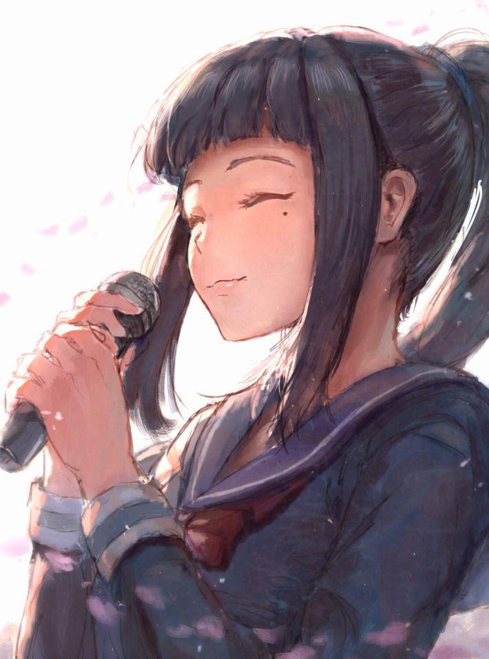 【マイクロフォン片手に】マイク持ってる女の子の二次画像【YEAHYEAH】【12】