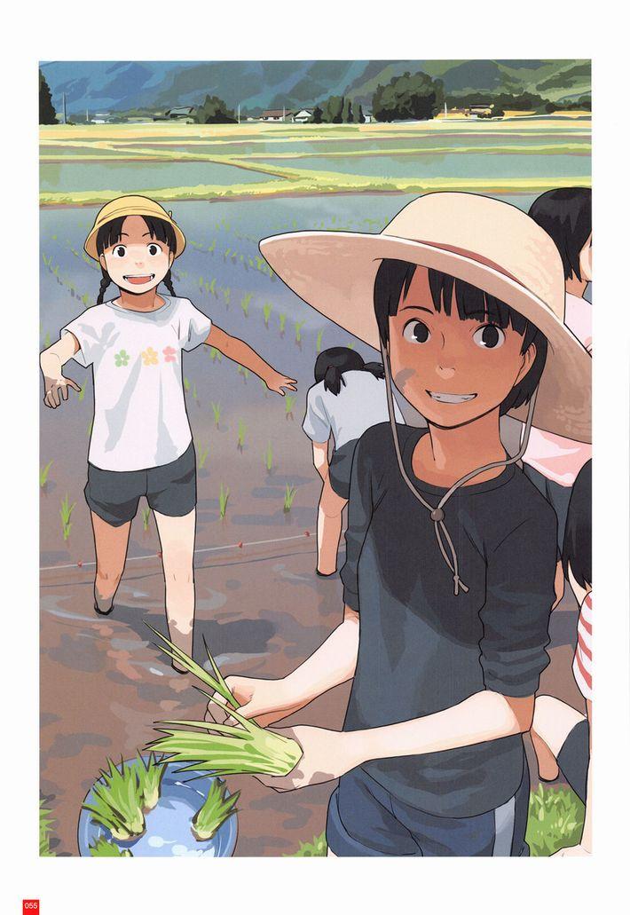 【課外授業】農作業に従事する女子達の二次エロ画像【10】