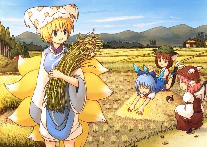 【課外授業】農作業に従事する女子達の二次エロ画像【21】