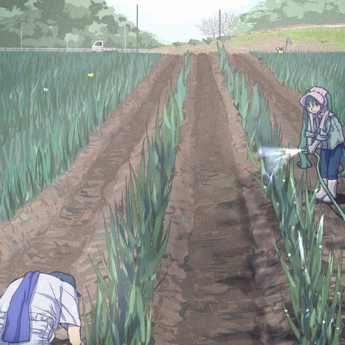 【課外授業】農作業に従事する女子達の二次エロ画像【25】
