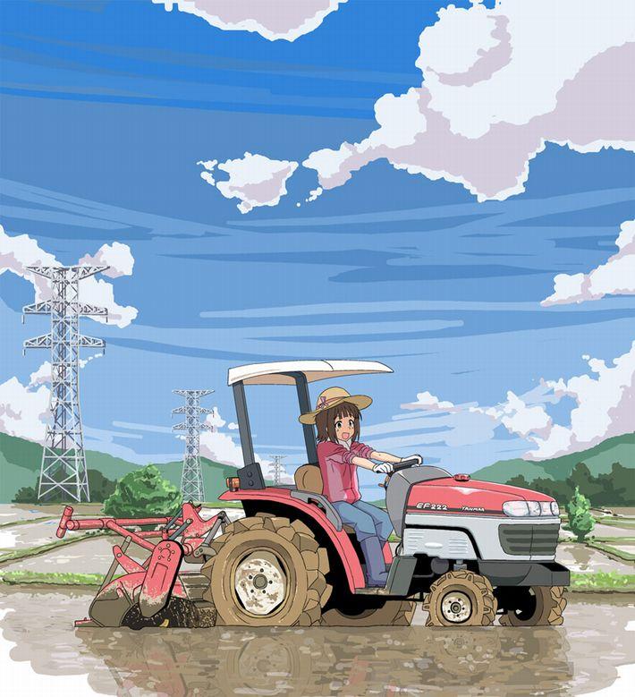 【課外授業】農作業に従事する女子達の二次エロ画像【30】