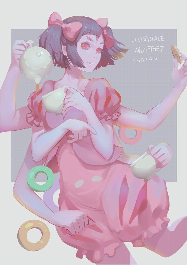 【Undertale】マフェット(Muffet)のエロ画像【アンダーテイル】【21】