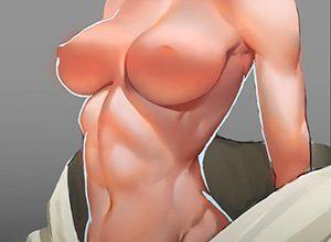 【腹筋マシーンのお陰】綺麗に割れた腹筋を持つ女子達の二次エロ画像【OMG】