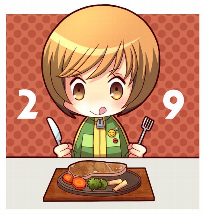 【肉欲】ステーキを頬張る女子達の二次画像【13】