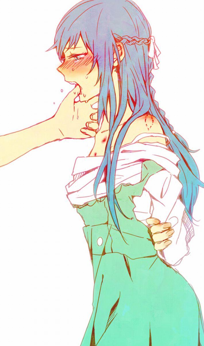 【高校生のノリ】身体にキスマークつけてる女子達の二次エロ画像【14】