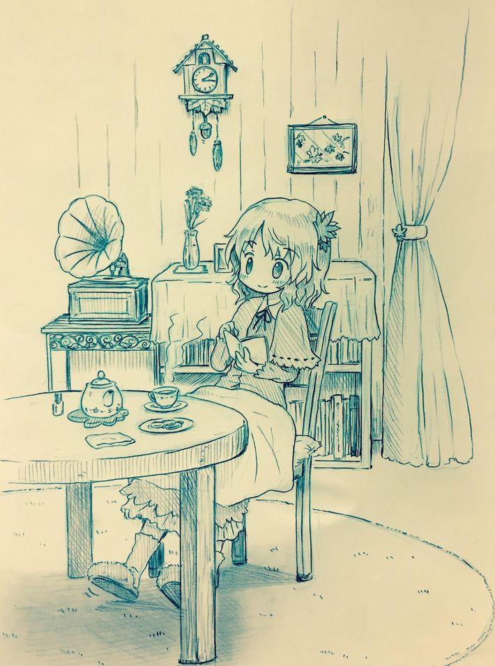 【あらかわいい】鳩時計と美少女の二次画像【いやよくみたらクソむかつく】【4】