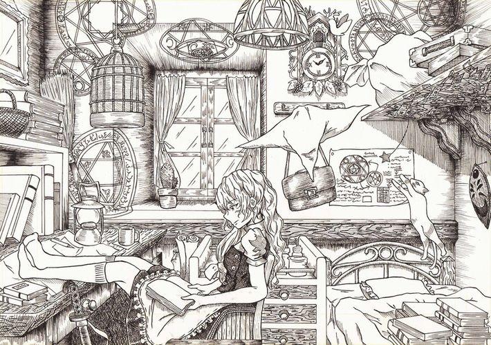 【あらかわいい】鳩時計と美少女の二次画像【いやよくみたらクソむかつく】【8】