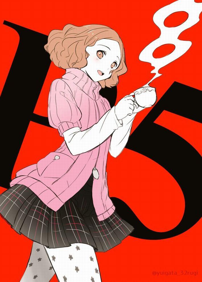 【P5】奥村春(おくむらはる)のエロ画像【ペルソナ5】【23】