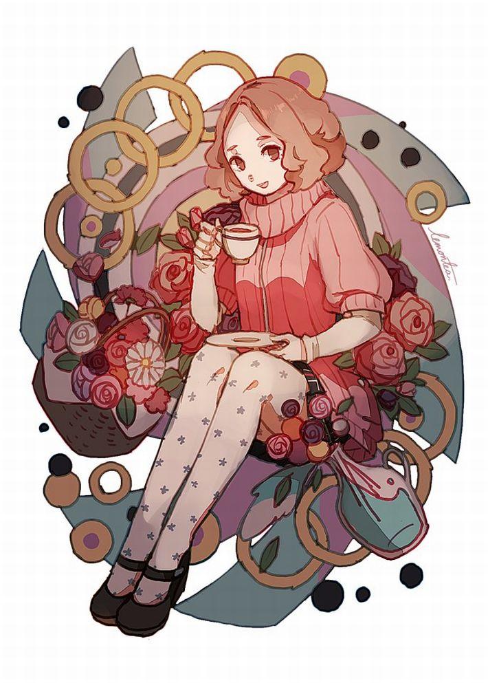 【P5】奥村春(おくむらはる)のエロ画像【ペルソナ5】【27】