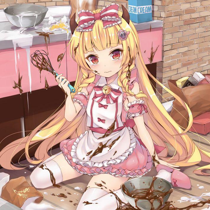 【手洗った?】バレンタインに料理を普段全くしない子がチョコレートを作ってる二次画像【2】