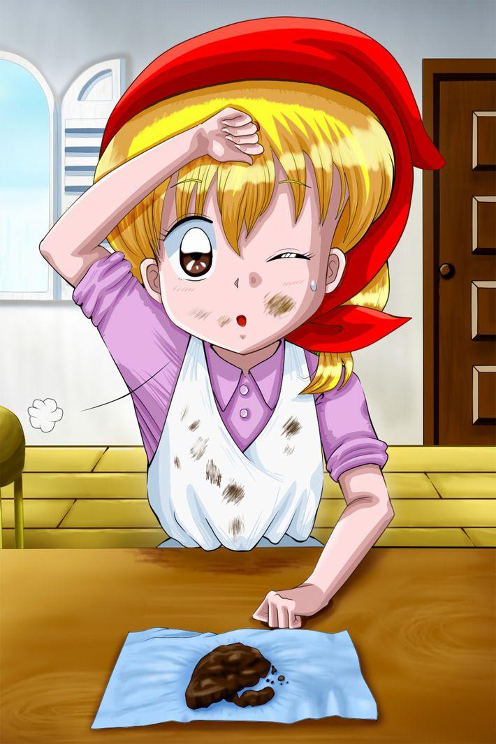 【手洗った?】バレンタインに料理を普段全くしない子がチョコレートを作ってる二次画像【16】