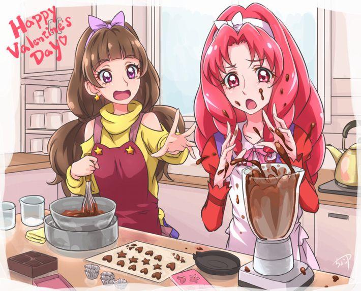 【手洗った?】バレンタインに料理を普段全くしない子がチョコレートを作ってる二次画像【33】