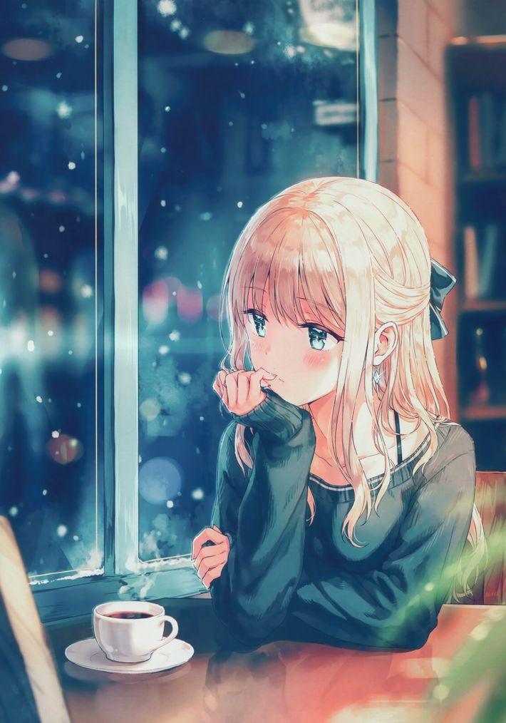 【西海岸で飲む】意識高そうなカフェでコーヒーを楽しむ女子達の二次画像【いつもの味】【8】