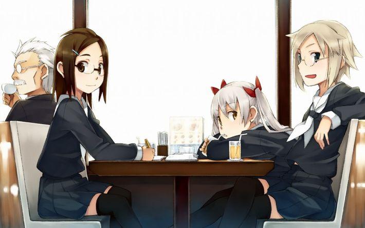 【西海岸で飲む】意識高そうなカフェでコーヒーを楽しむ女子達の二次画像【いつもの味】【13】