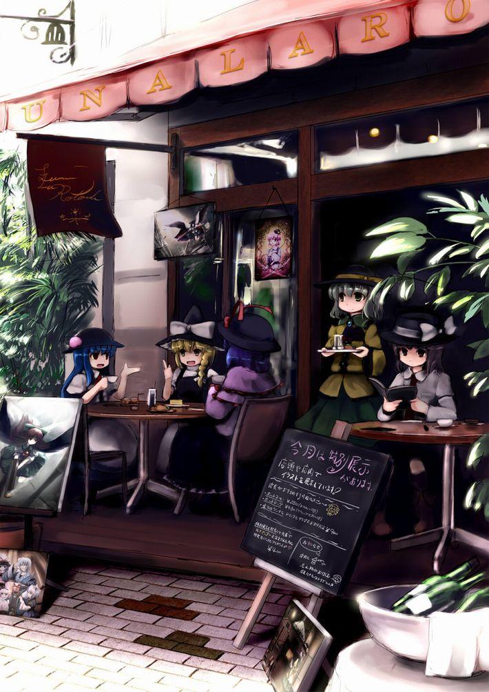 【西海岸で飲む】意識高そうなカフェでコーヒーを楽しむ女子達の二次画像【いつもの味】【14】