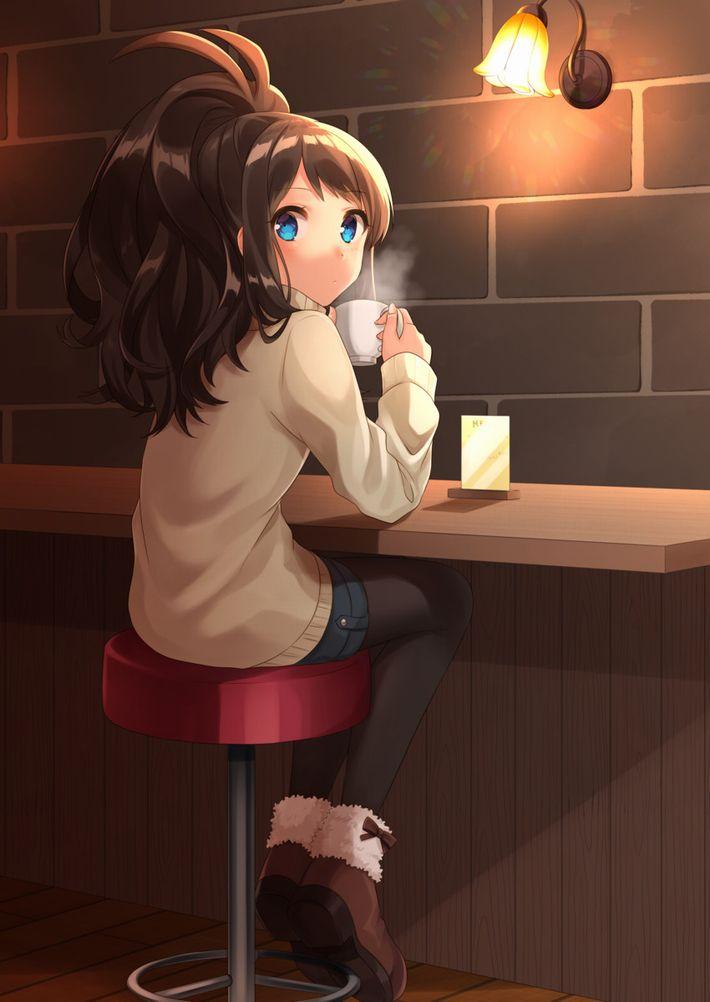 【西海岸で飲む】意識高そうなカフェでコーヒーを楽しむ女子達の二次画像【いつもの味】【25】