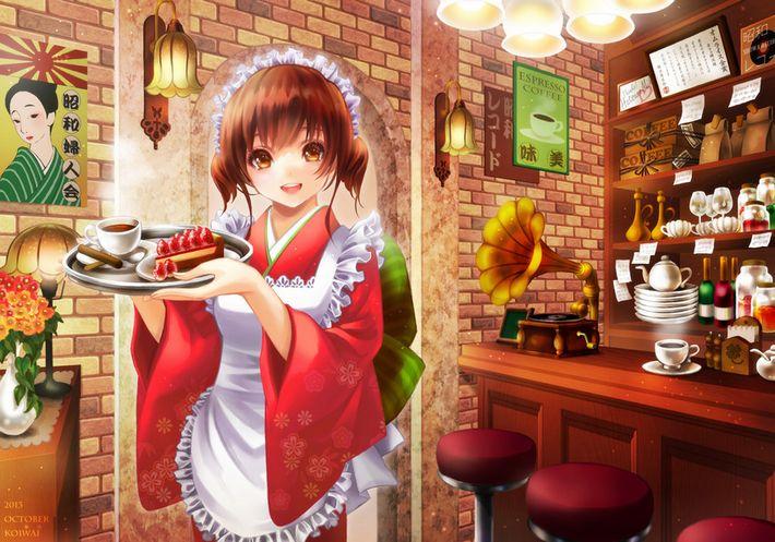 【西海岸で飲む】意識高そうなカフェでコーヒーを楽しむ女子達の二次画像【いつもの味】【29】