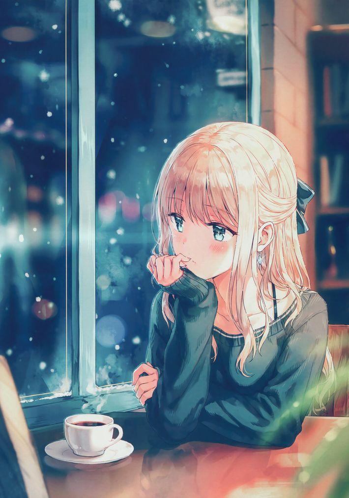 【西海岸で飲む】意識高そうなカフェでコーヒーを楽しむ女子達の二次画像【いつもの味】【35】