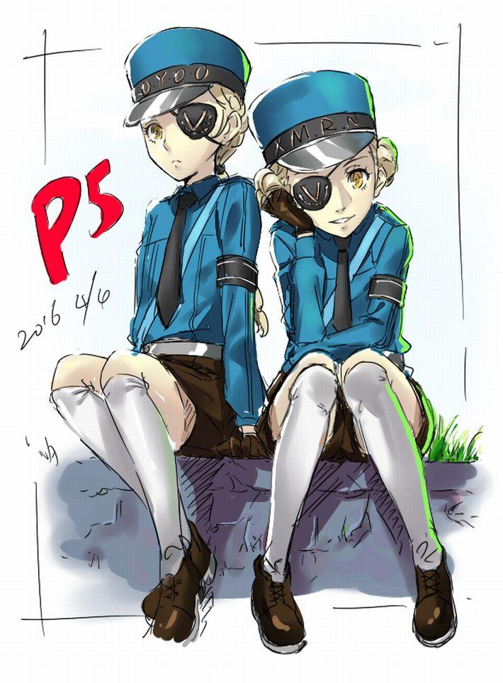 【P5】カロリーヌ&ジュスティーヌのエロ画像【ペルソナ5】【16】