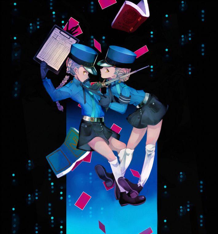 【P5】カロリーヌ&ジュスティーヌのエロ画像【ペルソナ5】【17】