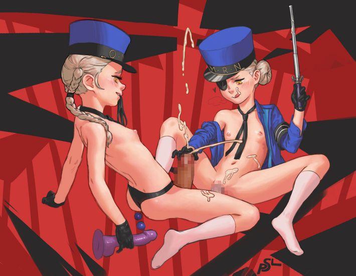 【P5】カロリーヌ&ジュスティーヌのエロ画像【ペルソナ5】【43】
